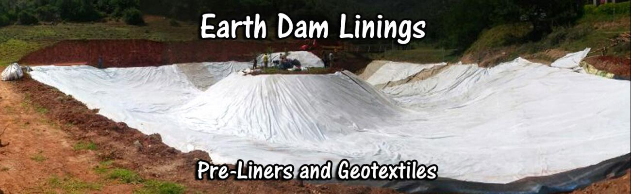 Earth Dam with Pre Liner