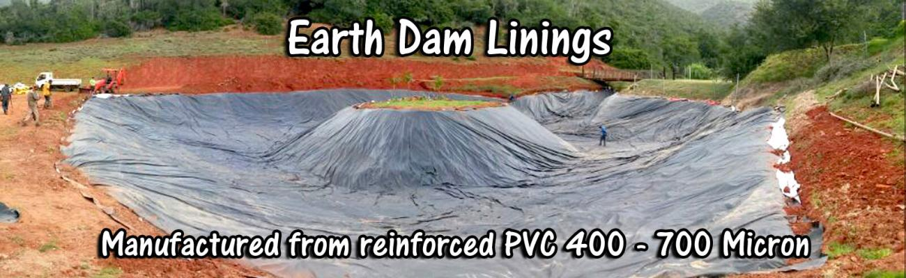 Earth Dam With Liner