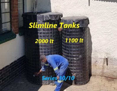 Welded Mesh Tanks 2000L