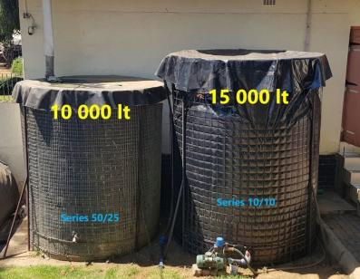 Welded Mesh Tanks 15000L